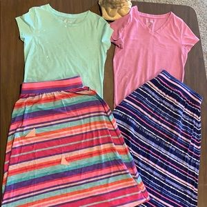 Other - Girls bundle of skirts and tops